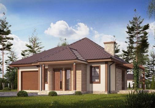 Проект будинку Z73 L GL в Киеве