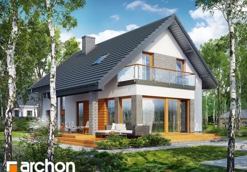 Проект будинку Будинок під ацеролею у Києві