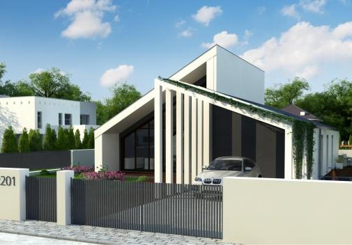 Проект будинку Zx201+ в Киеве
