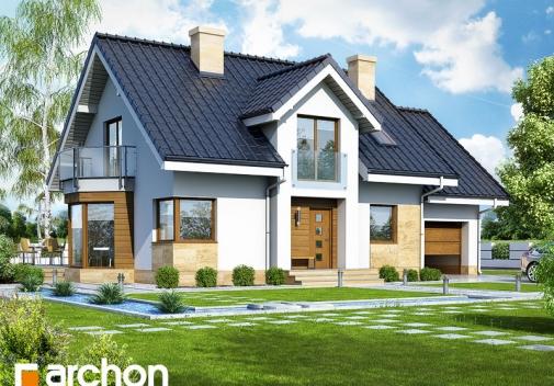 Проект будинку Будинок в рододендронах 6 (A) вер.2 у Києві