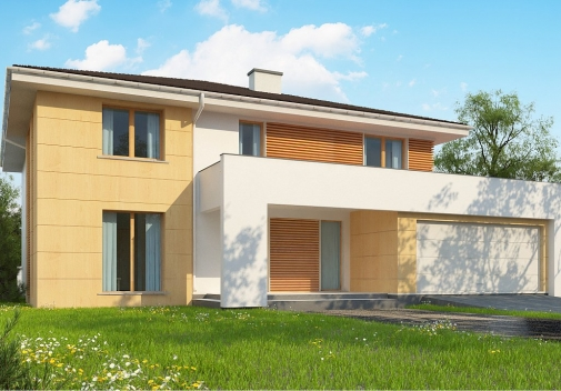 Проект будинку Z156 A у Києві