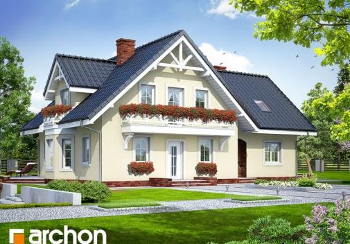 Проект будинку Будинок в боровиках вер.2 у Києві