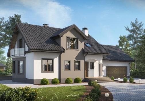 Проект будинку Z28 L GP2 в Киеве