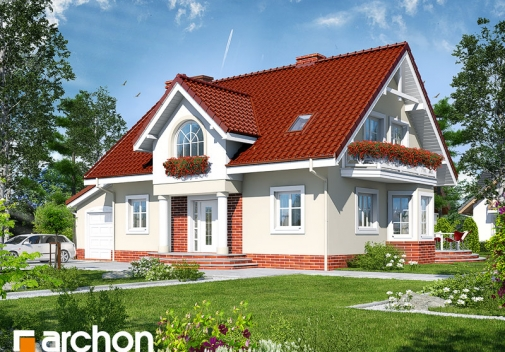 Проект будинку Будинок в мірабеллі (Г) вер.2 у Києві