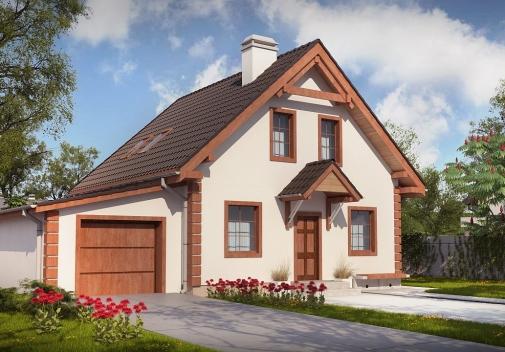 Проекты домов с гаражом в Киеве