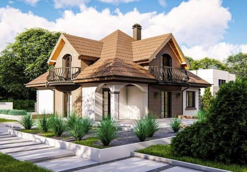 Проект будинку Z18 kl+P у Києві