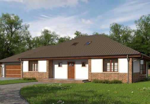 Проект будинку Z10 GL2 stu в Киеве