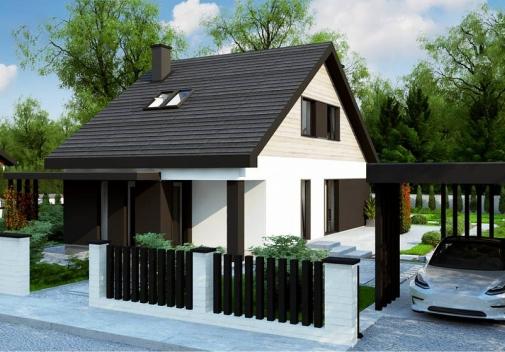 Проект будинку Z468 у Києві