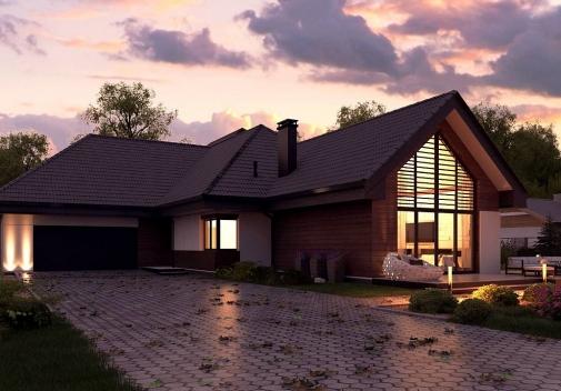 Проект будинку Z402 B+ в Киеве
