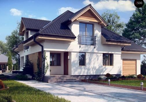Проект будинку Z284 PK в Киеве