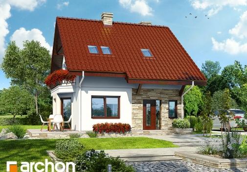 Проект будинку Будинок в камах у Києві