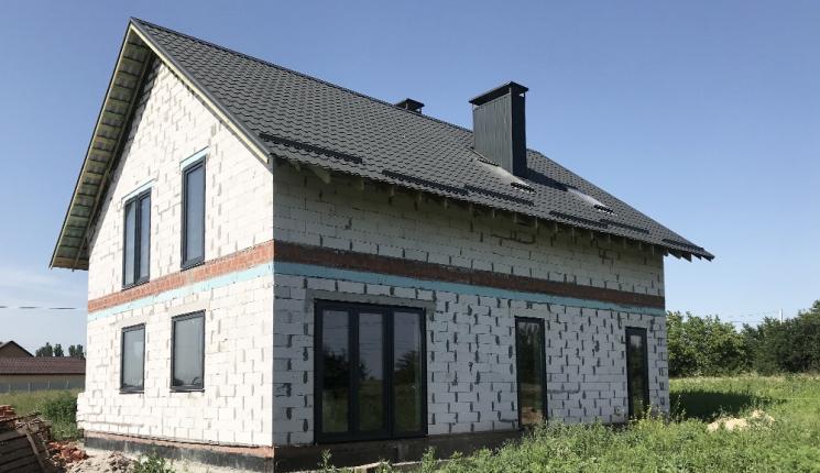 Мансардний будинок у м. Дніпро
