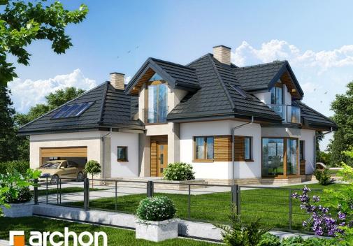 Проект будинку Будинок під каркасом (H) вер.2 у Києві