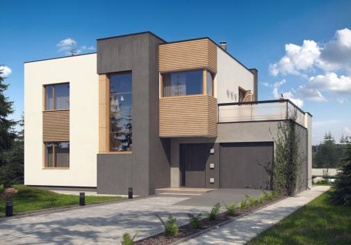 Проект будинку Zx59 pk в Киеве