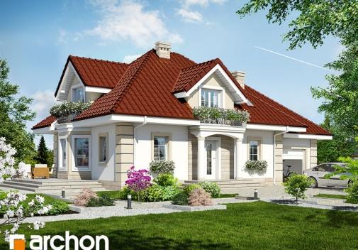 Проект будинку Будинок в нектаринах 2 TERMO вер.2 у Києві