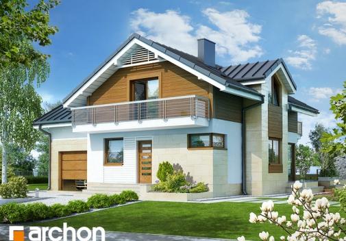 Проект будинку Будинок в абрикосах 3 вер.2 у Києві