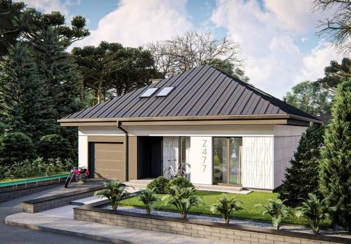 Проект будинку Z477 в Киеве