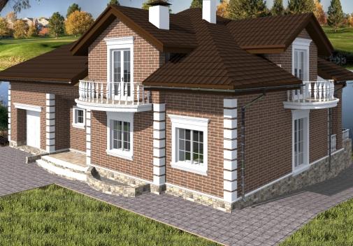 Проект будинку Db 4 в Киеве