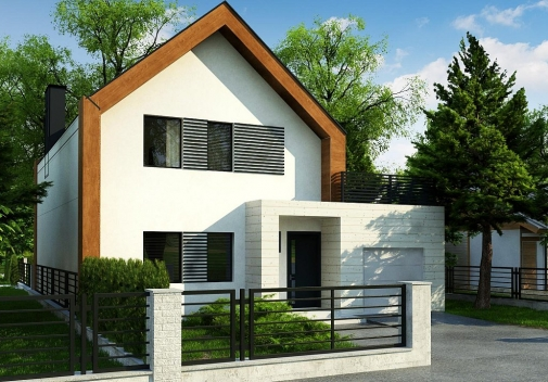 Проект будинку Z424 в Киеве