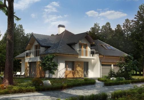 Проект будинку Z270 A PK у Києві