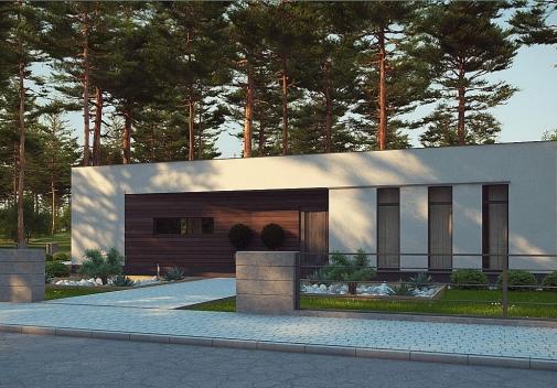 Проекти будинків з плоским дахом