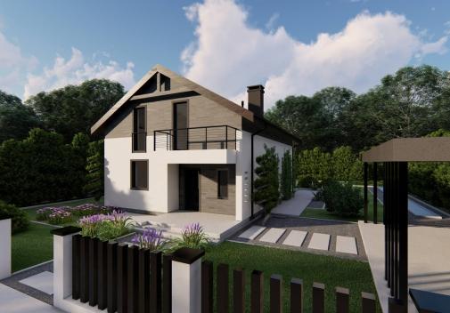 Проект будинку Z38 + в Киеве