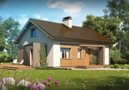 Проекти будинків з двосхилим дахом у Києві