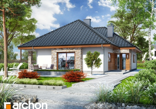 Проект будинку Будинок в ламбертах у Києві